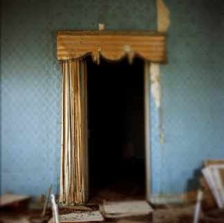 "From ""Palace: Interiors of Abandoned Houses in Doha, Qatar"" by Kristin Giordano"