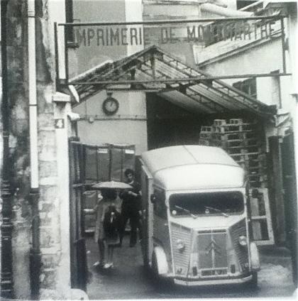 A Montmartre scene by Harriet McNamara