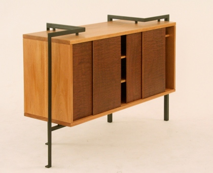 Architectural sideboard by birdloft. Photo: Jeff Libby