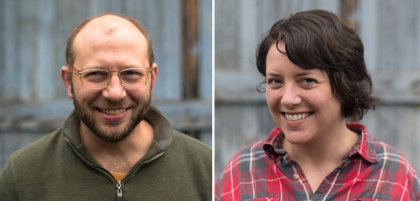 Designing minds: Jeff Libby and Adrienne Wicks of birdloft. Photo courtesy of the artists