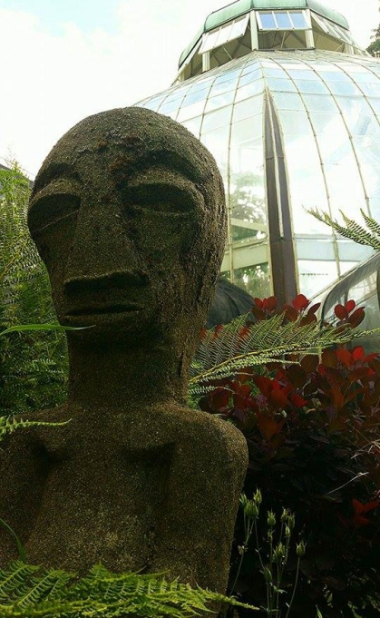 Sculpture by Clarence Deming (1912-2003). Seymour Conservatory permanent collection. Photo: River Meschi