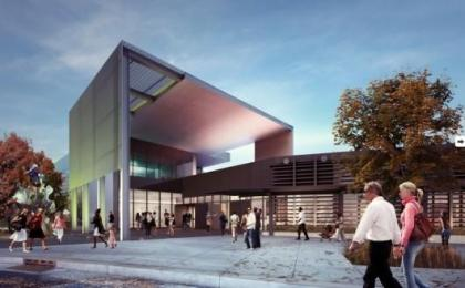 Rendering of Tacoma Art Museum. Photo courtesy of KPLU