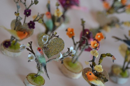 Dainty, delicate and mysterious - tiny artscapes by Laurie Cinotto. Photo courtesy of the artist