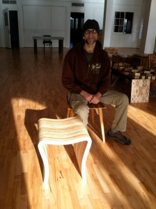 Artisan Steve Lawler creates furniture that dazzles.