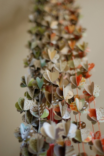 Paper garlands by Laurie Cinotto. Photo courtesy of the artist