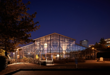 Foss Waterway Seaport, a vintage warehouse revitalized by Olson-Kundig Architects. Courtesy photo